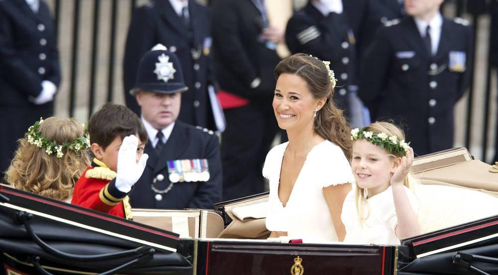 Die Kehrseite des Kleides, das Pippa Middleton zur Hochzeit (Foto) ihrer großen Schwester Kate mit Prinz William trug, machte sie weltberühmt