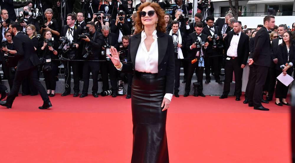 Susan Sarandon ist auch 2017 wieder in Cannes zu Gast