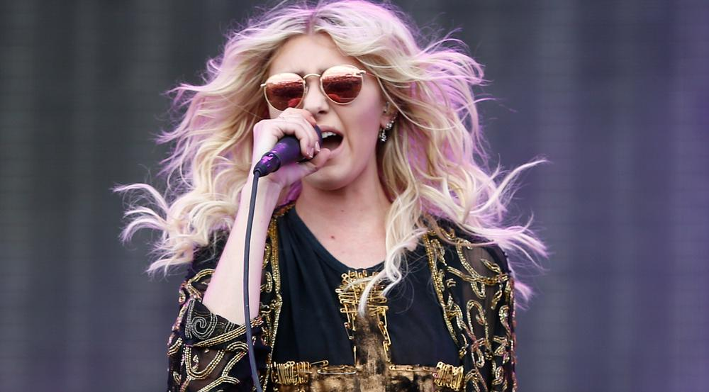 Taylor Momsen bei einem Konzert ihrer Band The Pretty Reckless