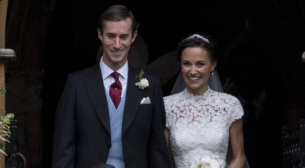 Das glückliche Brautpaar: Pippa Middleton und James Matthews