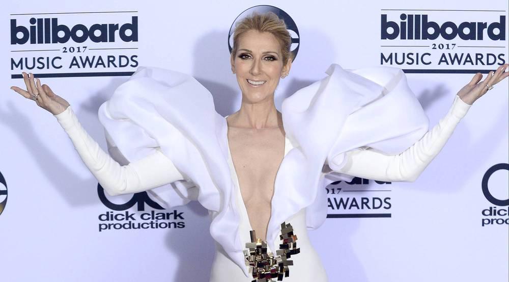 Sängerin Celine Dion bei den