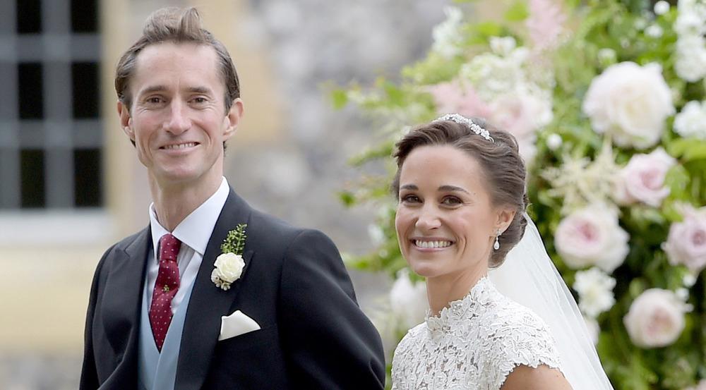 James Matthews und Pippa Middleton als glückliches Ehepaar nach ihrer Hochzeit