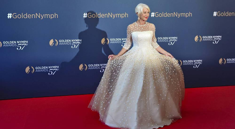 Ein Traum in Weiß: Helen Mirren in Monte Carlo