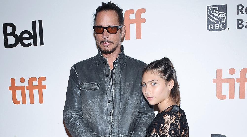Chris Cornell mit seiner Tochter Toni im September 2016 beim Toronto International Film Festival