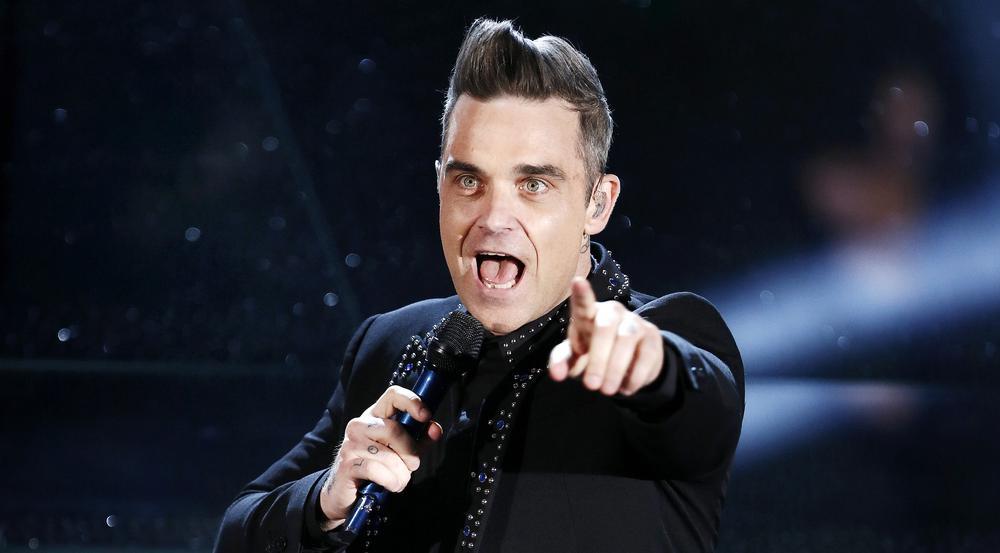 Meisterlicher Entertainer: Robbie Williams bei einem Konzert