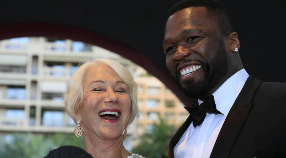 Verstanden sich ganz offensichtlich blendend: Helen Mirren und 50 Cent