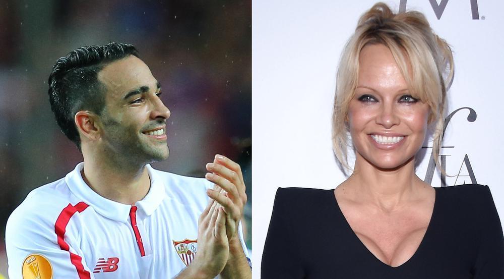 Sind sie ein Paar? Adil Rami und Pamela Anderson