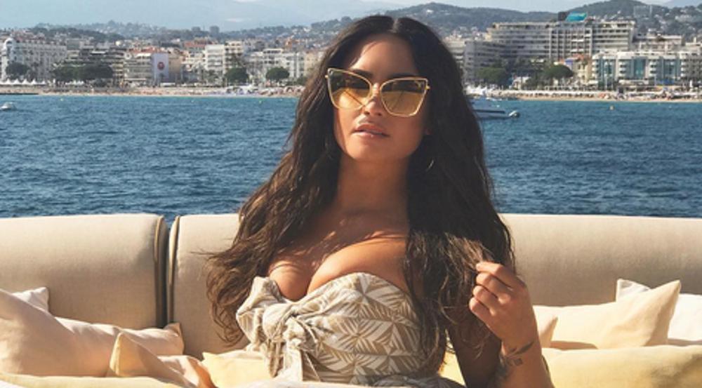 Demi Lovato ist derzeit in Cannes