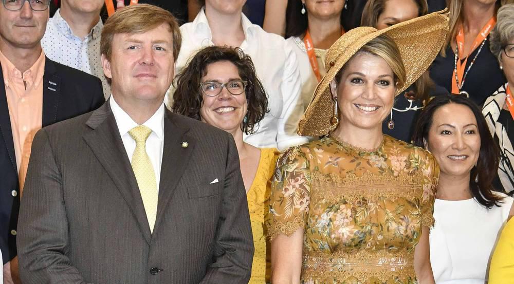 Zusammen mit ihrem Mann, König Willem-Alexander, besuchte Máxima Mailand