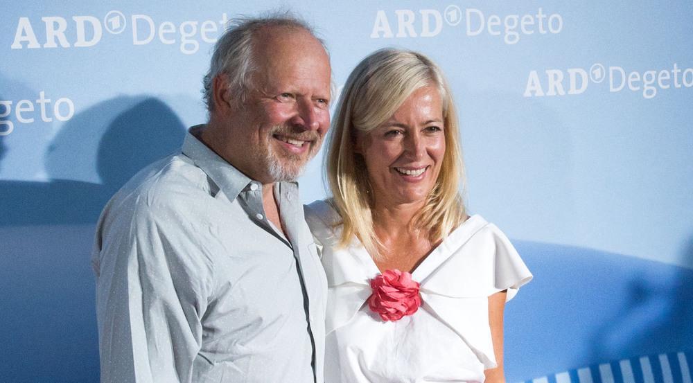 Sommer-Look: Judith und Axel Milberg bei ARD Degeto Get together im Rahmen des Filmfestes München 2017