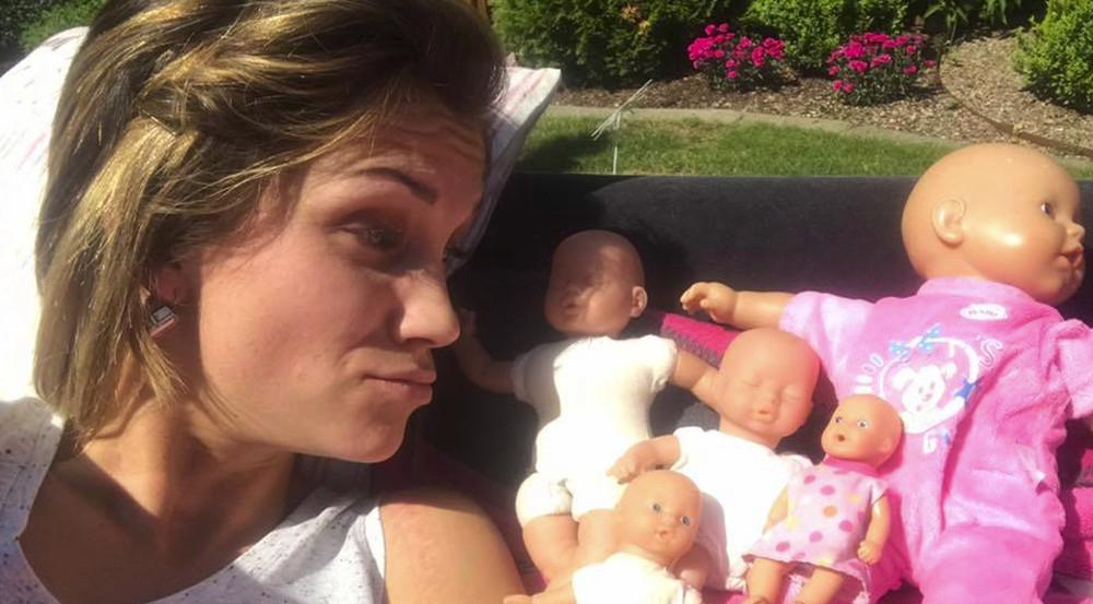Bald hat sie ein echtes Baby: Anna-Maria Zimmermann