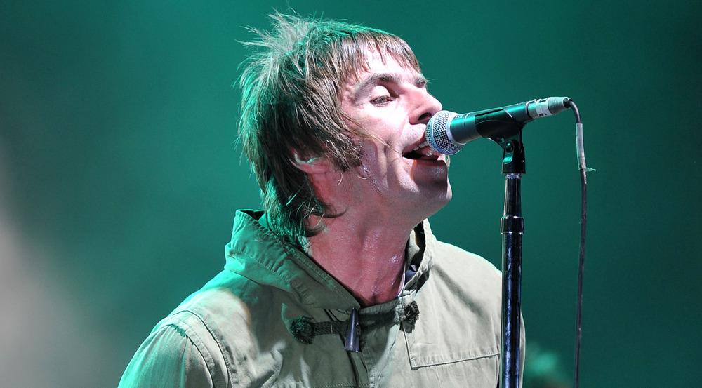 Liam Gallagher bei einem Auftritt in London