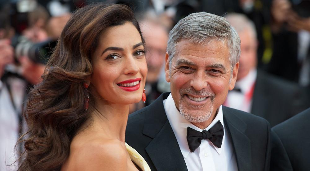 Amal und George Clooney sind am 6. Juni Eltern von Zwillingen geworden