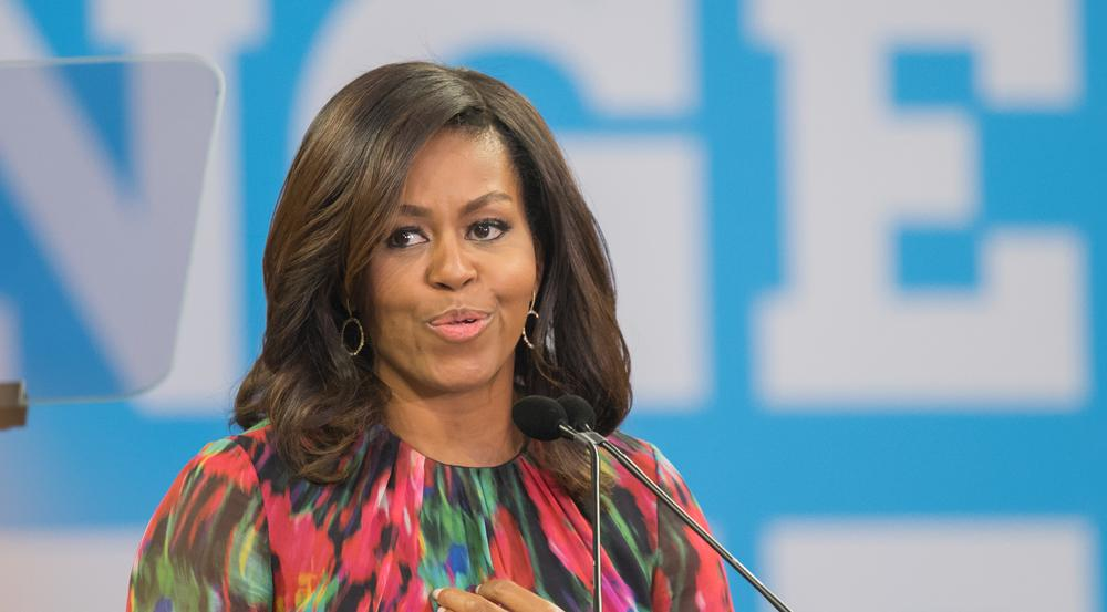 Michelle Obama fand starke Worte in Richtung Chance the Rapper