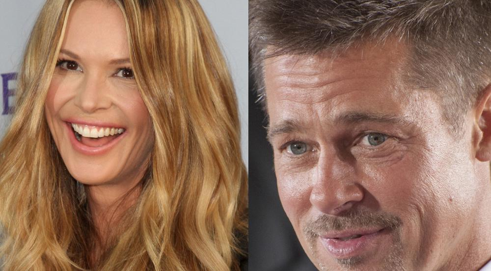 Sind sie ein Liebespaar? Brad Pitt und Elle Macpherson