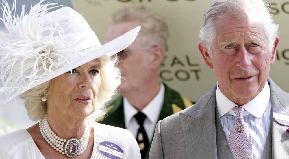 Prinz Charles und Camilla in Ascot