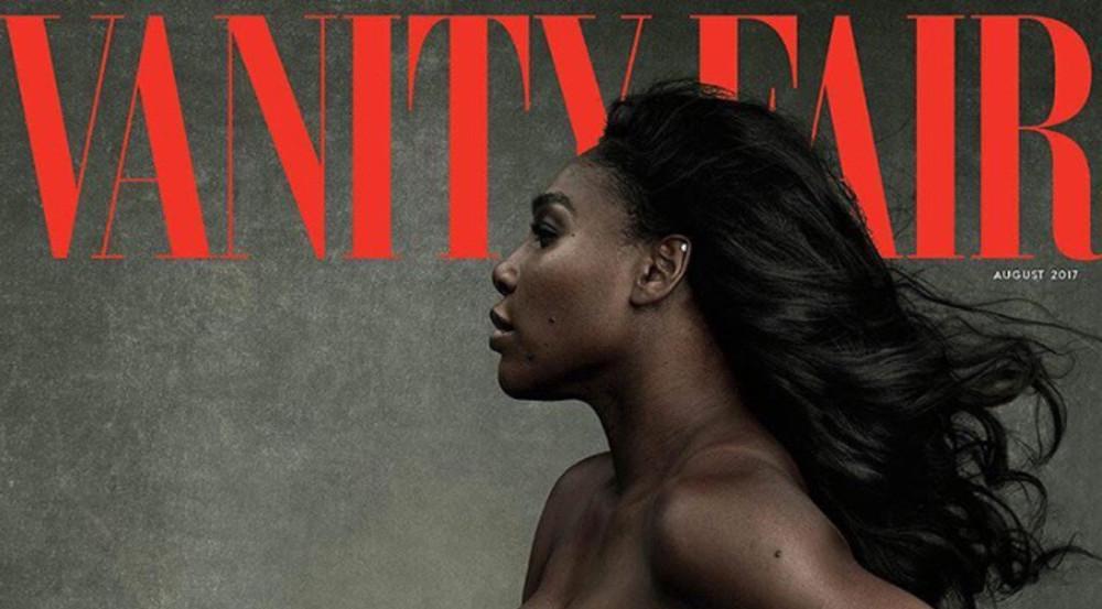 Serena Williams ziert hüllenlos das Cover der August-Ausgabe der