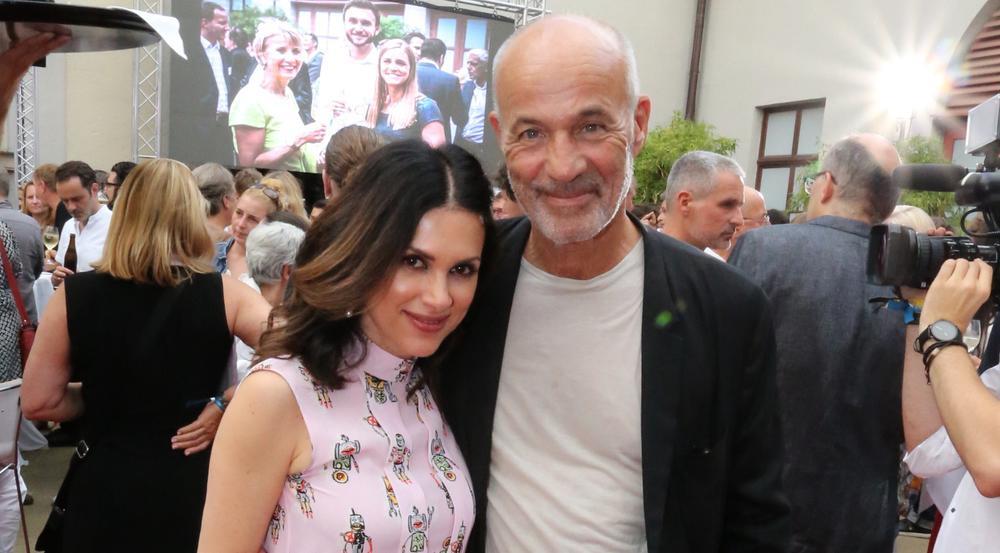 Viktoria und Heiner Lauterbach beim Bavaria Film Fest Empfang im Rahmen des Filmfestes München