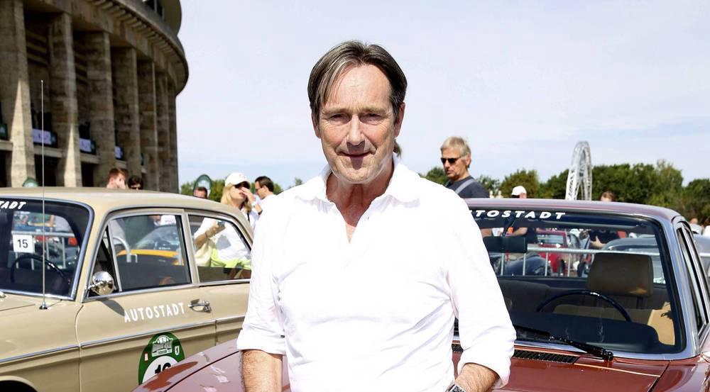 Schauspieler Helmut Zierl ist glücklich verliebt