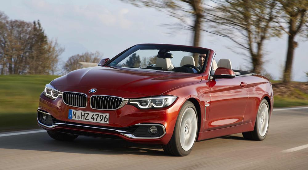 Fahrvergnügen BMW Cabrio: Offen auf der Landstraße