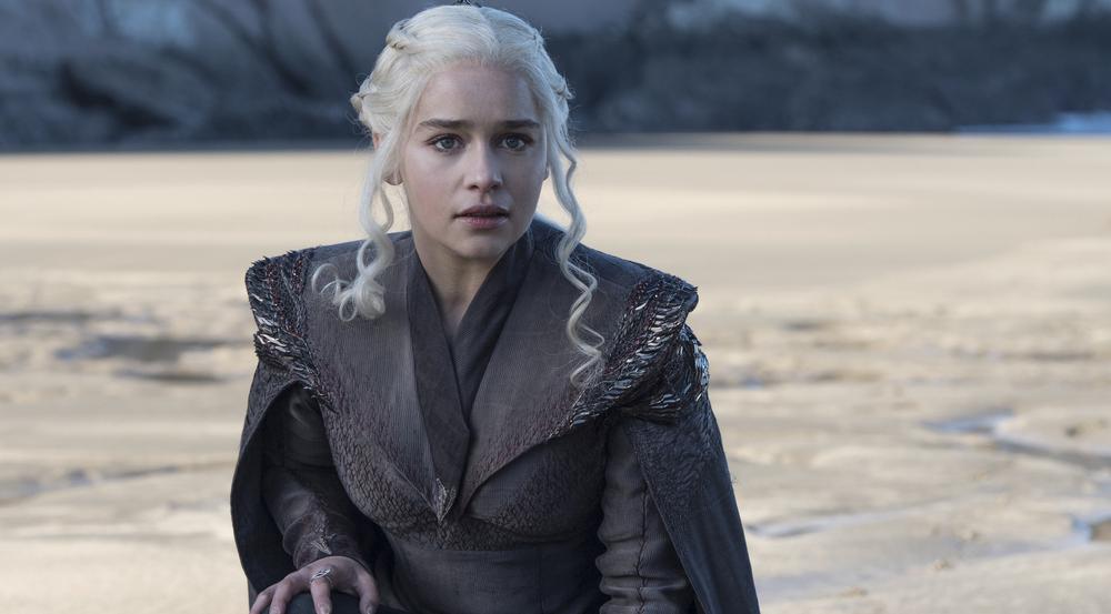 Emilia Clarke alias Daenerys Targaryen in der siebten Staffel