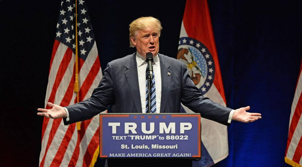 Donald Trump hält mit seiner Meinung nicht hinter dem Berg -  vor allem, wenn es um Frauen geht
