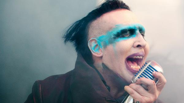 Marilyn Manson bei einem Auftritt in den USA 2015