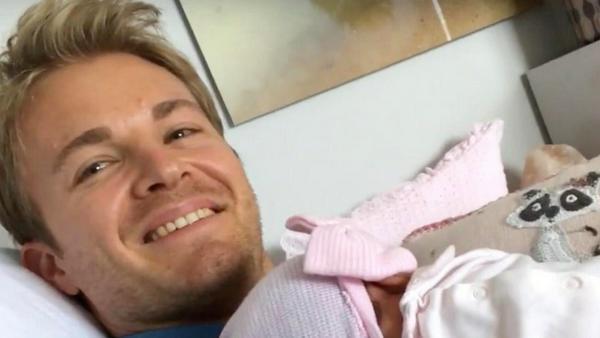 Nico Rosberg und seine Tochter