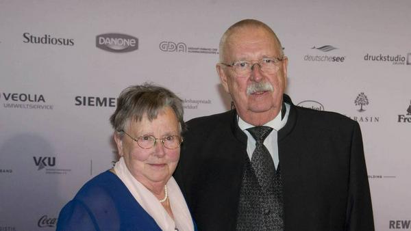 Geert Müller-Gerbes und seine Ehefrau Margot