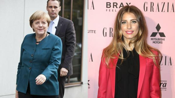 Zwei Frauen, die einen völlig unterschiedlichen Bezug zu Mode haben: Cathy Hummels und Angela Merkel