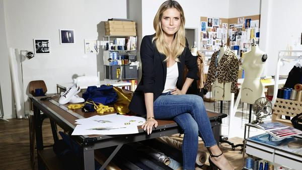 Heidi Klum designte Mode für den Discounter Lidl