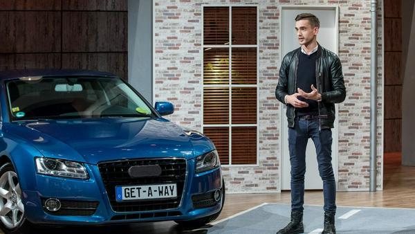 """""""Getaway"""", eine App, um private Autos zu vermieten"""