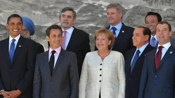 Angela Merkel hat sich schon mit vielen männlichen Staatschefs auseinandergesetzt