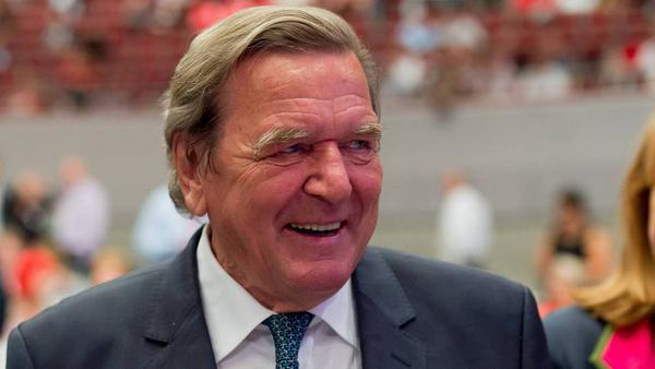 Gerhard Schröder Ende Juni 2017 in Dortmund