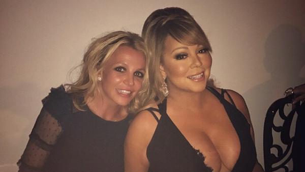 Britney Spears und Mariah Carey trafen bei einem Abendessen unverhofft aufeinander