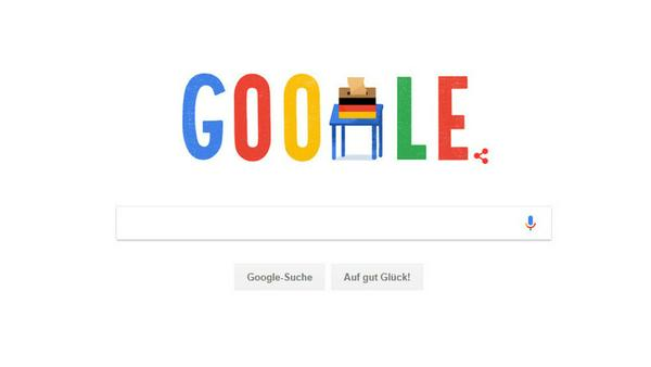 So erinnert Google seine Nutzer an die Wahl