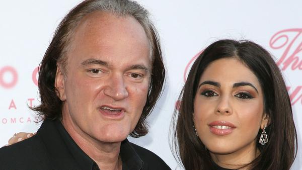 Quentin Tarantino und Daniella Pick bei einem gemeinsamen Auftritt in Los Angeles