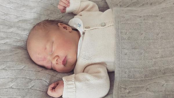 Prinz Gabriel von Schweden: Ob er auch seine Taufe verschläft?
