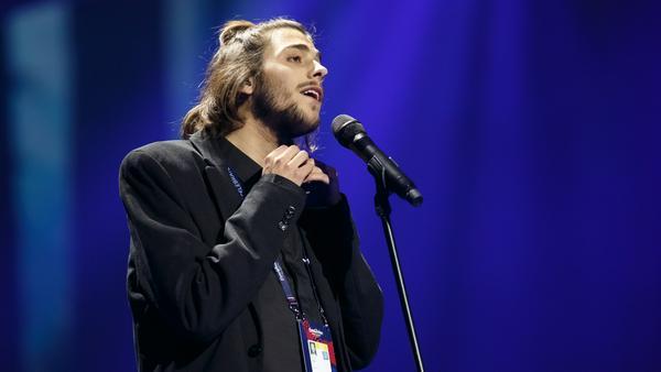Salvador Sobral bei den Proben für einen seiner ESC-Auftritte