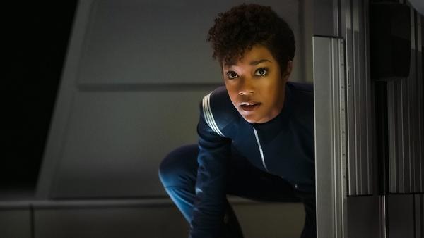 """Nicht nur bei """"The Walking Dead"""" eine Draufgängerin: Sonequa Martin-Green als Michael Burnham in """"Star Trek: Discovery"""""""