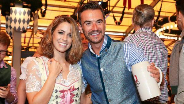Vanessa Mai und Florian Silbereisen wuren 2016 gemeinsam auf dem Oktoberfest abgelichtet
