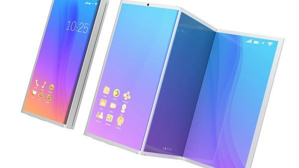 3D-Design: So könnte ein faltbares Smartphone aussehen