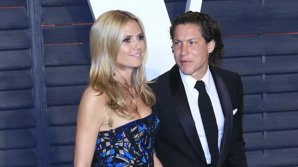 So innig wird man Heidi Klum und Vito Schnabel wohl vorerst nicht mehr sehen