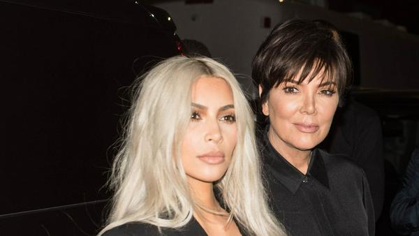 Kim Kardashian mit Mutter Kris Jenner Anfang September bei der New Yorker Fashion Week