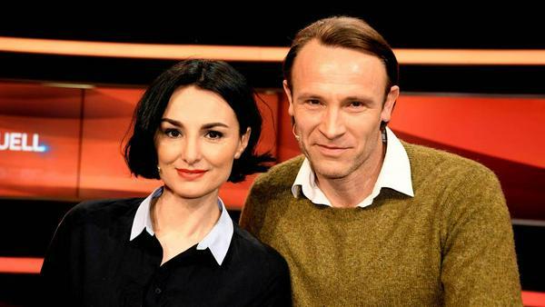 """Im März traten Mimi Fiedler und Bernhard Bettermann noch gemeinsam beim """"Paarduell"""" im Ersten auf"""