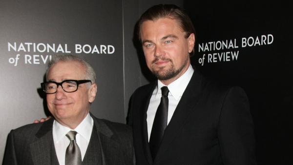 Martin Scorsese (l.) und Leonardo DiCaprio tun sich einmal mehr zusammen