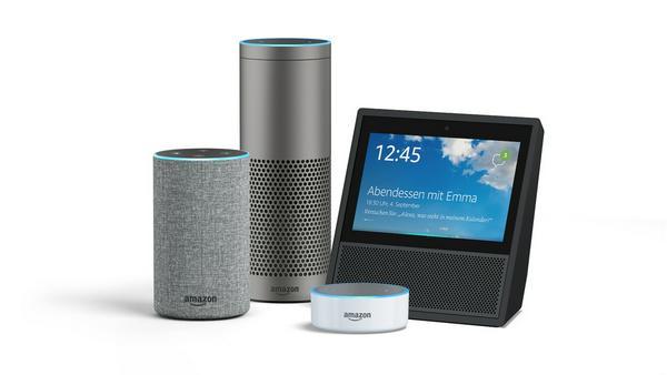 Die Echo-Produktfamilie von Amazon