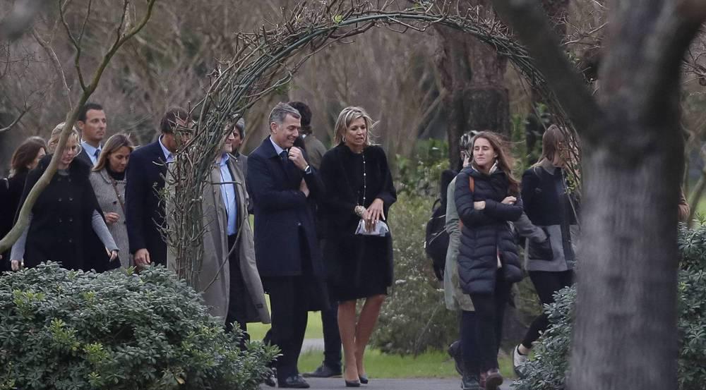 Königin Máxima unter den Trauergästen in Argentinien