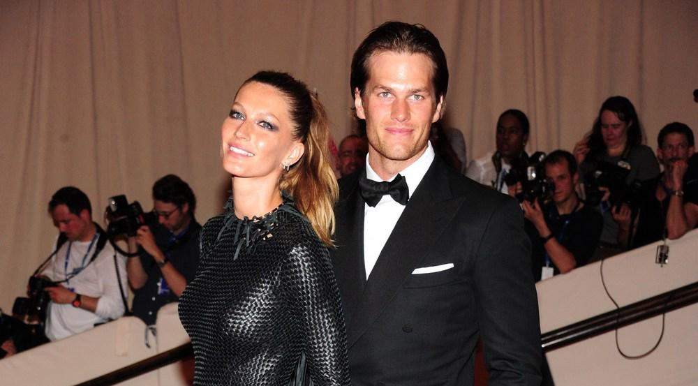 Tom Brady mit seiner Frau Gisele Bündchen