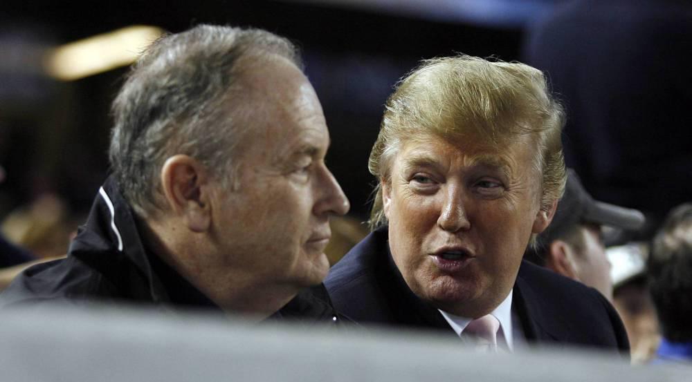 Bill O'Reilly (l.) mit einem seiner größten Fans, Donald Trump